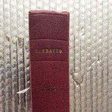 Libros de segunda mano: EL TEATRO MODERNO POR JACINTO BENAVENTE. 8 OBRAS.. Lote 182162675