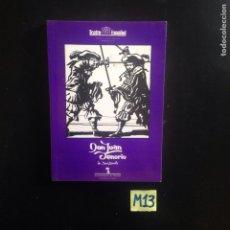 Libros de segunda mano: DON JUAN TENORIO. Lote 182621382