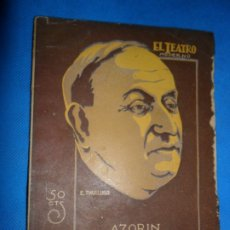 Libros de segunda mano: COMEDIA DEL ARTE, AZORÍN, ED. EL TEATRO MODERNO. Lote 183016886