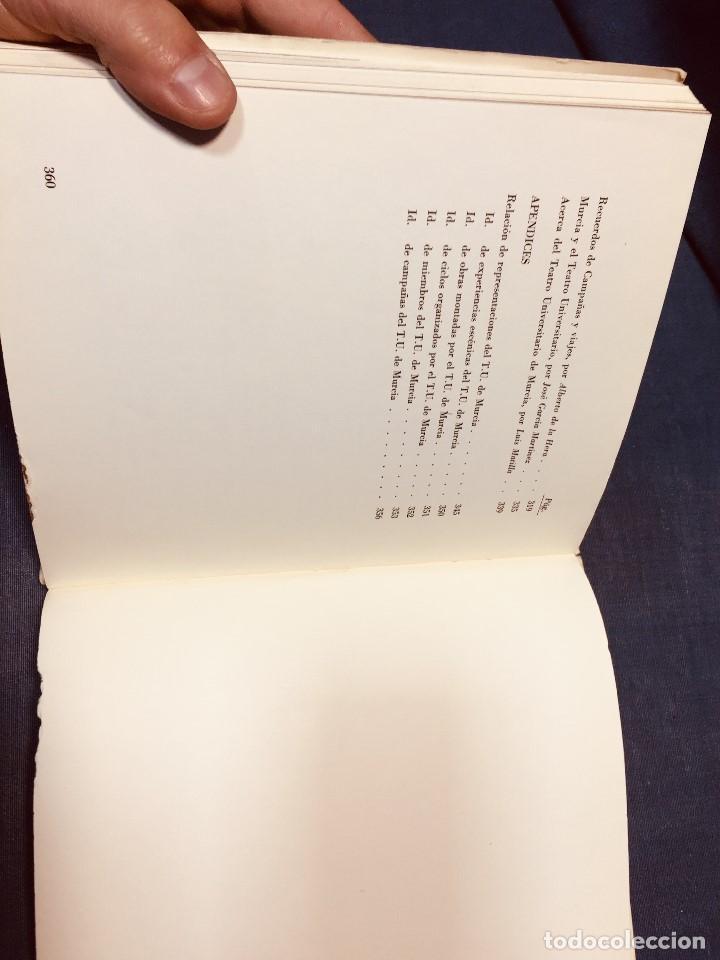 Libros de segunda mano: OCHO AÑOS DE TEATRO UNIVERSITARIO T.U. DE MURCIA 1967 1975 CESAR OLIVA - Foto 3 - 183366758