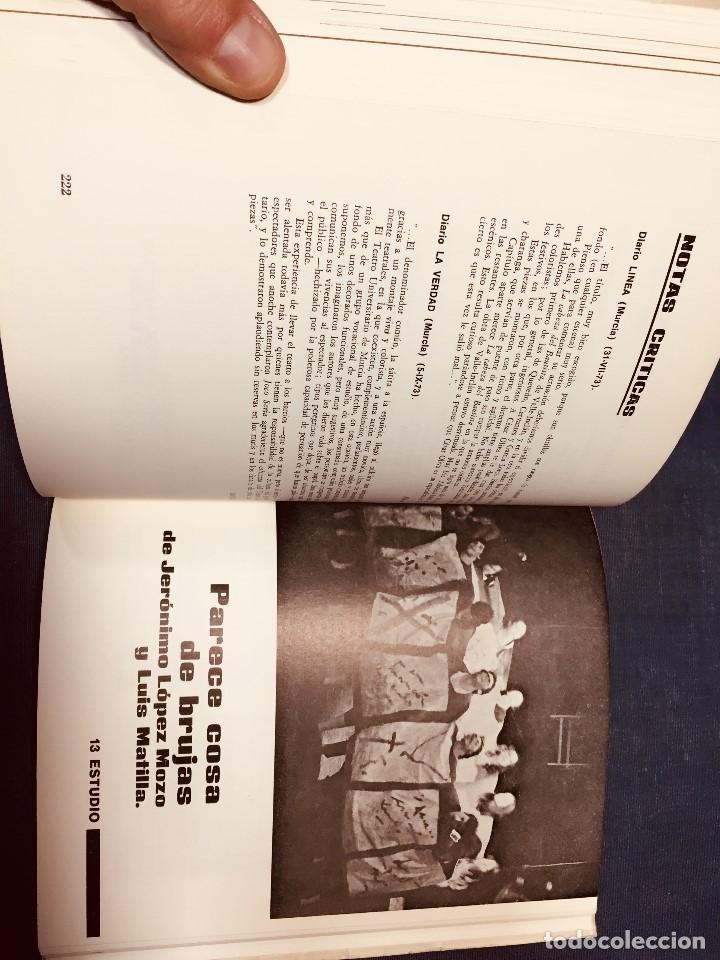 Libros de segunda mano: OCHO AÑOS DE TEATRO UNIVERSITARIO T.U. DE MURCIA 1967 1975 CESAR OLIVA - Foto 6 - 183366758