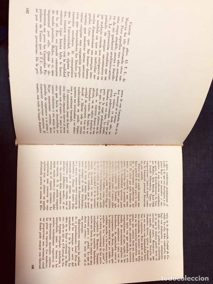 Libros de segunda mano: OCHO AÑOS DE TEATRO UNIVERSITARIO T.U. DE MURCIA 1967 1975 CESAR OLIVA - Foto 8 - 183366758
