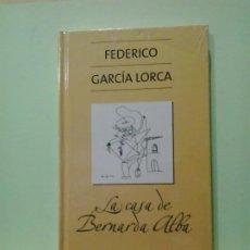 Libros de segunda mano: LMV - LA CASA DE BERNARDA ALBA. FEDERICO GARCÍA LORCA. Lote 183767216