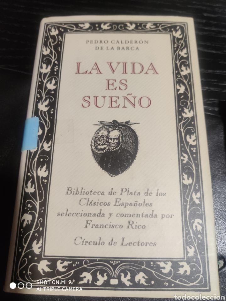 LA VIDA ES SUEÑO, PEDRO CALDERÓN DE LA BARCA (Libros de Segunda Mano (posteriores a 1936) - Literatura - Teatro)