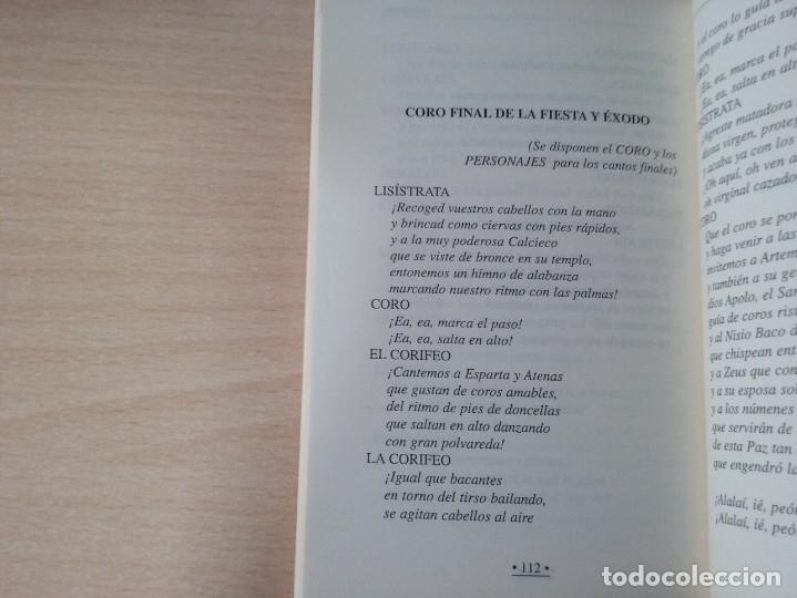 Libros de segunda mano: LISÍSTRATA - ARISTÓFANES (VERSIÓN Y TRADUCCIÓN DE PEDRO SÁENZ ALMEIDA) - Foto 6 - 184353192