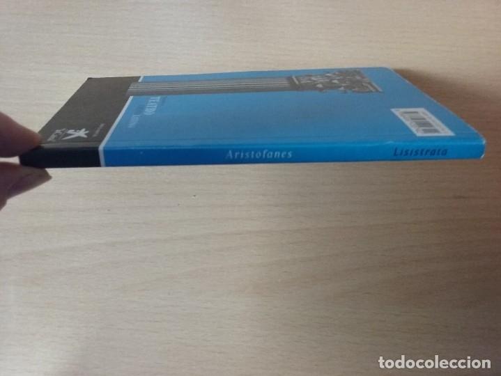 Libros de segunda mano: LISÍSTRATA - ARISTÓFANES (VERSIÓN Y TRADUCCIÓN DE PEDRO SÁENZ ALMEIDA) - Foto 8 - 184353192