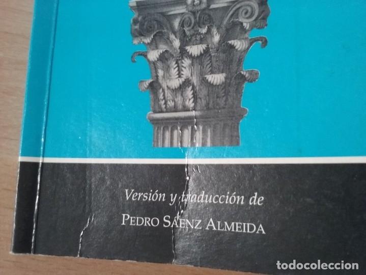 Libros de segunda mano: LISÍSTRATA - ARISTÓFANES (VERSIÓN Y TRADUCCIÓN DE PEDRO SÁENZ ALMEIDA) - Foto 9 - 184353192