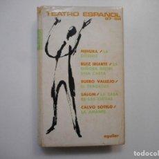 Libros de segunda mano: MIHURA, RUIZ IRIARTE, BUERO VALLEJO, SALOM, CALVO SOTELO TEATRO ESPAÑOL 67-68 Y97374 . Lote 185789668