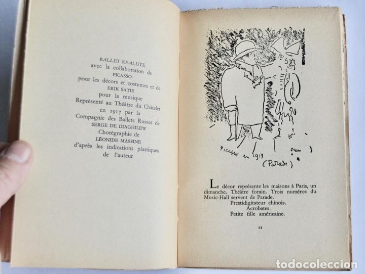 Libros de segunda mano: Jean Cocteau. Théatre de Poche. 14 Dibujos Inéditos. Éditions du Rocher. Mónaco, 1955 - Foto 4 - 186108746