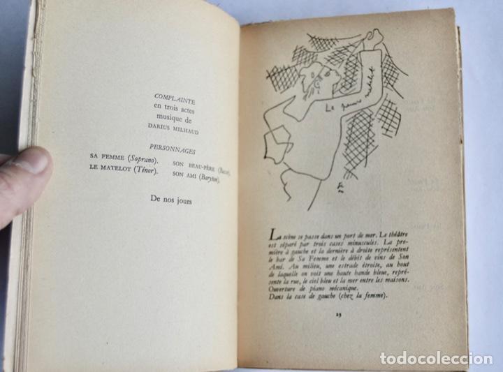 Libros de segunda mano: Jean Cocteau. Théatre de Poche. 14 Dibujos Inéditos. Éditions du Rocher. Mónaco, 1955 - Foto 6 - 186108746