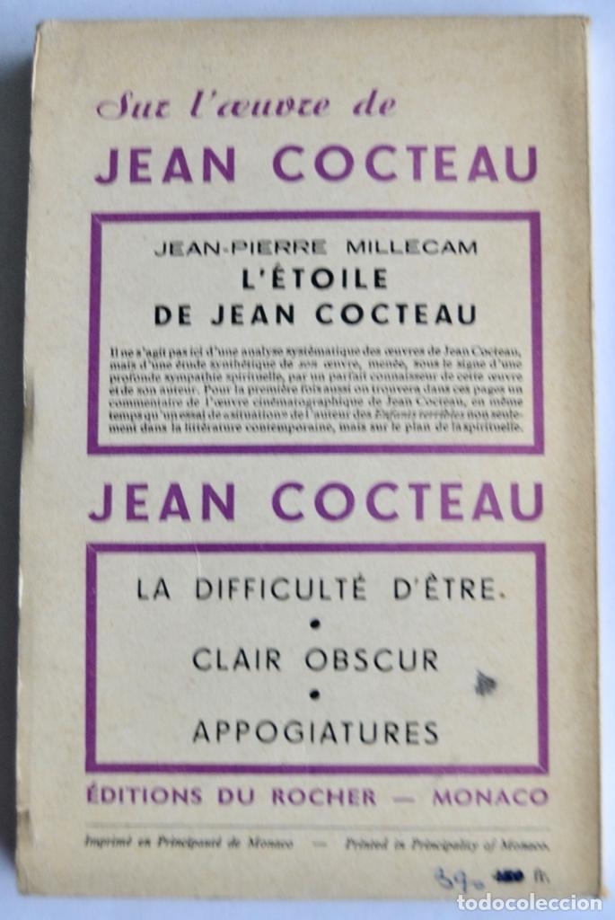 Libros de segunda mano: Jean Cocteau. Théatre de Poche. 14 Dibujos Inéditos. Éditions du Rocher. Mónaco, 1955 - Foto 8 - 186108746