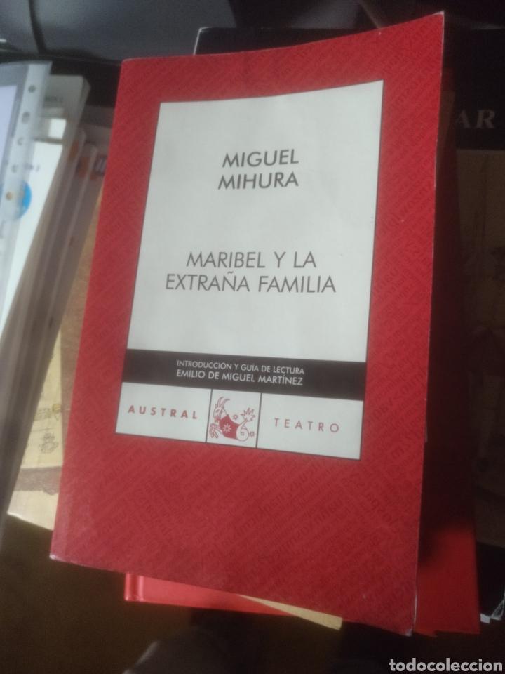 MARIBEL Y LA EXTRAÑA FAMILIA MIGUEL MIHURA AUSTRAL TEATRO 123 (Libros de Segunda Mano (posteriores a 1936) - Literatura - Teatro)
