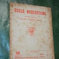 Libros de segunda mano: DUELO MODERNISIMO DE FELIPE PEREZ CAPO 1946. Lote 187530210