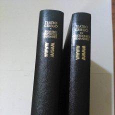Libros de segunda mano: GRANDES CULTURAS, TEATRO GRIEGO, AGUILAR. Lote 189577816
