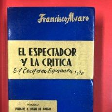 Libros de segunda mano: EL ESPECTADOR Y LA CRITICA - EL TEATRO EN ESPAÑA EN 1970 - AÑO XIII - PRENSA ESPAÑOLA 1971. Lote 191245818