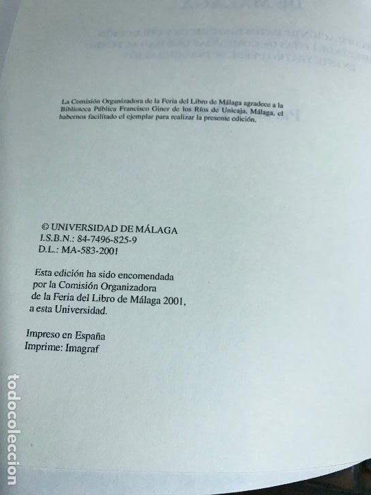 Libros de segunda mano: Anales del Teatro Cervantes de Málaga. B. Fernández. 2001 Primera parte. PEDIDO MÍNIMO 5€ - Foto 4 - 191630046