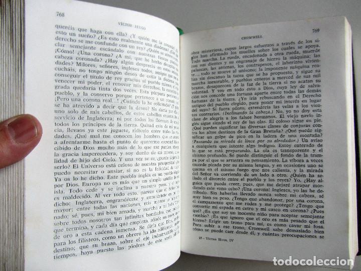 Libros de segunda mano: Teatro completo. Victor Hugo. Editorial Lorenzana. Barcelona - Foto 7 - 191716907