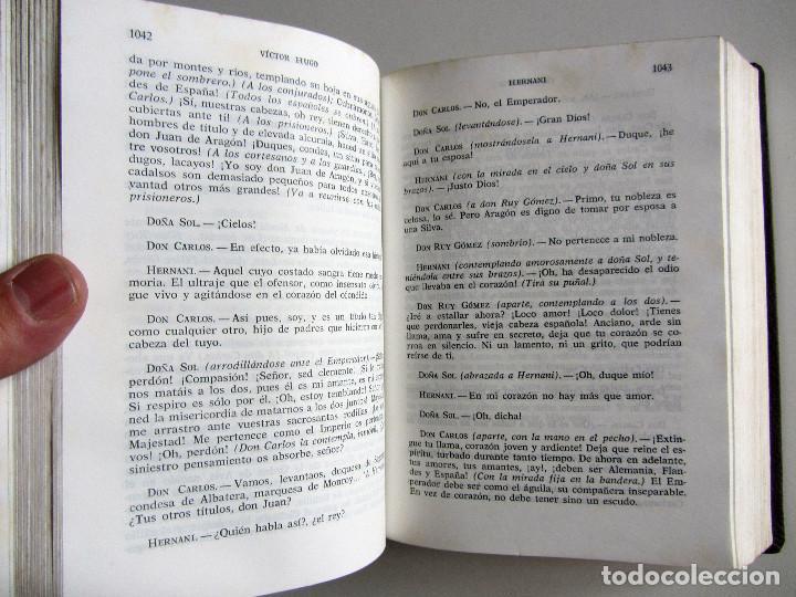 Libros de segunda mano: Teatro completo. Victor Hugo. Editorial Lorenzana. Barcelona - Foto 8 - 191716907