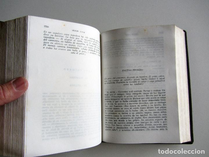 Libros de segunda mano: Teatro completo. Victor Hugo. Editorial Lorenzana. Barcelona - Foto 9 - 191716907