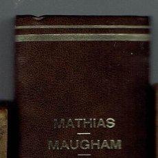 Libros de segunda mano: OBRAS DE JULIO MATHÍAS, ROBIN MAUGHAM Y JULIA MAURA. COLECCIÓN TEATRO.. Lote 191902213