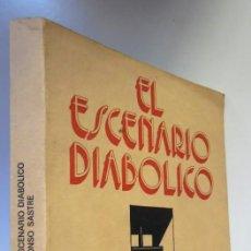 Libros de segunda mano: EL ESCENARIO DIABÓLICO, DE ALFONSO SASTRE: EL CUERVO, EJERCICIOS DE TERROR, CINTAS MAGNÉTICAS .... Lote 192134278