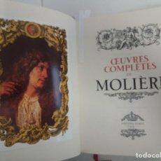 Libros de segunda mano: OBRAS COMPLETAS DE MOLIÈRE. ÚNICO EN TC. Lote 192143590