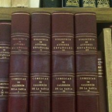 Libros de segunda mano: AÑO 1944-1945 - COMEDIAS DE CALDERÓN DE LA BARCA - TEATRO BIBLIOTECA DE AUTORES ESPAÑOLES. Lote 192364450