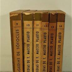 Libros de segunda mano: BIBLIOTECA CLÁSICA. 6 TOMOS. VARIOS AUTORES. EDIT. HERNANDO. 1943/45.. Lote 192867200