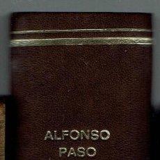 Libros de segunda mano: OCHO OBRAS DE ALFONSO PASO. COLECCIÓN TEATRO.. Lote 193380155