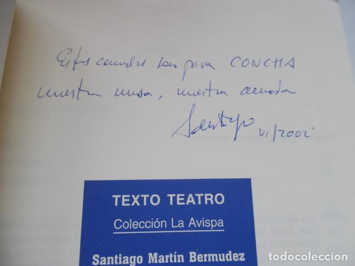 Libros de segunda mano: Dos historias femeninas: Lunas y Dalila y los virtuosos, de Santiago Martín Bermúdez. Dedicado - Foto 3 - 194159666