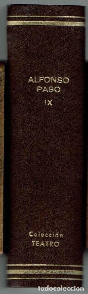 SEIS OBRAS DE ALFONSO PASO. COLECCIÓN TEATRO. (Libros de Segunda Mano (posteriores a 1936) - Literatura - Teatro)