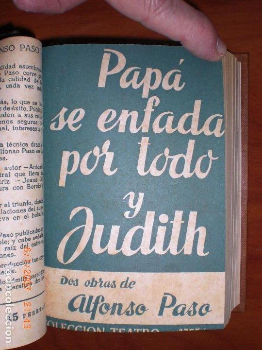Libros de segunda mano: SEIS OBRAS DE ALFONSO PASO. COLECCIÓN TEATRO. - Foto 5 - 194191255