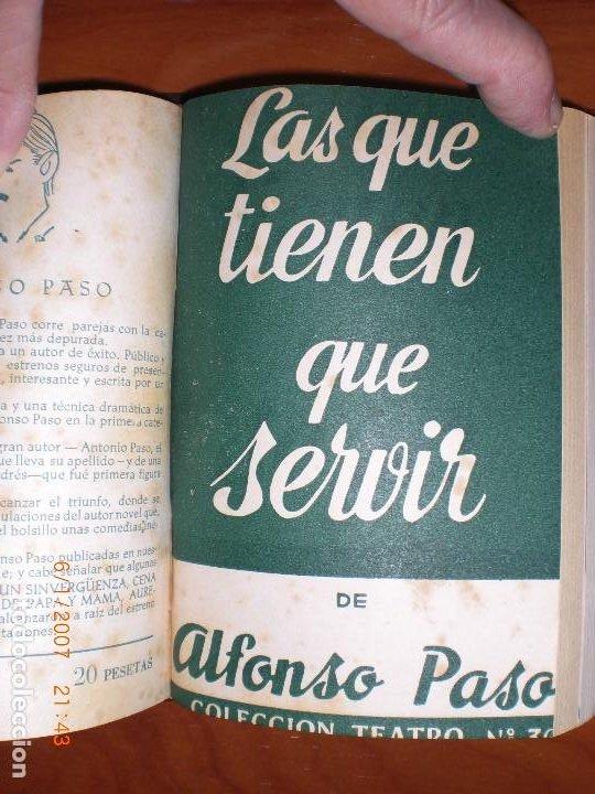 Libros de segunda mano: SEIS OBRAS DE ALFONSO PASO. COLECCIÓN TEATRO. - Foto 6 - 194191255