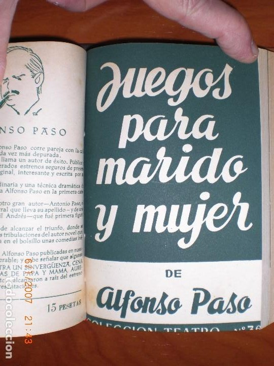 Libros de segunda mano: SEIS OBRAS DE ALFONSO PASO. COLECCIÓN TEATRO. - Foto 7 - 194191255
