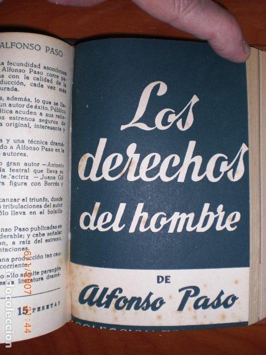 Libros de segunda mano: SEIS OBRAS DE ALFONSO PASO. COLECCIÓN TEATRO. - Foto 8 - 194191255