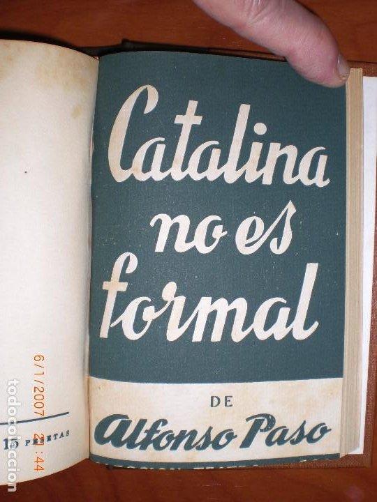 Libros de segunda mano: SEIS OBRAS DE ALFONSO PASO. COLECCIÓN TEATRO. - Foto 9 - 194191255