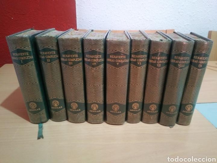 BENAVENTE-OBRAS COMPLETAS-EDICIONES AGUILAR-TOMO I AL IX !FALTAN 2 TOMOS! (Libros de Segunda Mano (posteriores a 1936) - Literatura - Teatro)