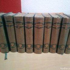Libros de segunda mano: BENAVENTE-OBRAS COMPLETAS-EDICIONES AGUILAR-TOMO I AL IX !FALTAN 2 TOMOS!. Lote 194201703
