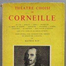 Libros de segunda mano: THEATR CHOISI DE CORNEILLE. GARNIER. Lote 194213586