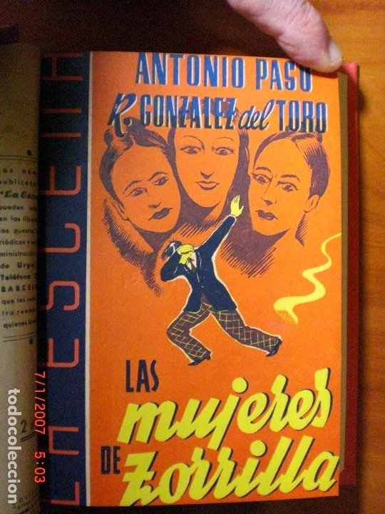 Libros de segunda mano: A.PASO, A.DE ARMENTERAS, R.GONZÁLEZ DEL TORO,M.PASO, A.DE PRADA,J.ROMERO-MARCHENT,J.LÓPEZ DE LA HERA - Foto 5 - 194302758
