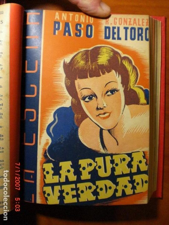 Libros de segunda mano: A.PASO, A.DE ARMENTERAS, R.GONZÁLEZ DEL TORO,M.PASO, A.DE PRADA,J.ROMERO-MARCHENT,J.LÓPEZ DE LA HERA - Foto 6 - 194302758