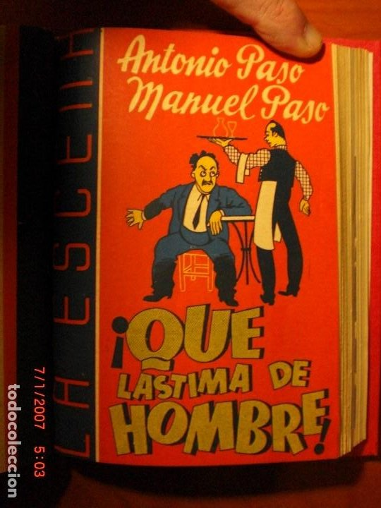 Libros de segunda mano: A.PASO, A.DE ARMENTERAS, R.GONZÁLEZ DEL TORO,M.PASO, A.DE PRADA,J.ROMERO-MARCHENT,J.LÓPEZ DE LA HERA - Foto 8 - 194302758