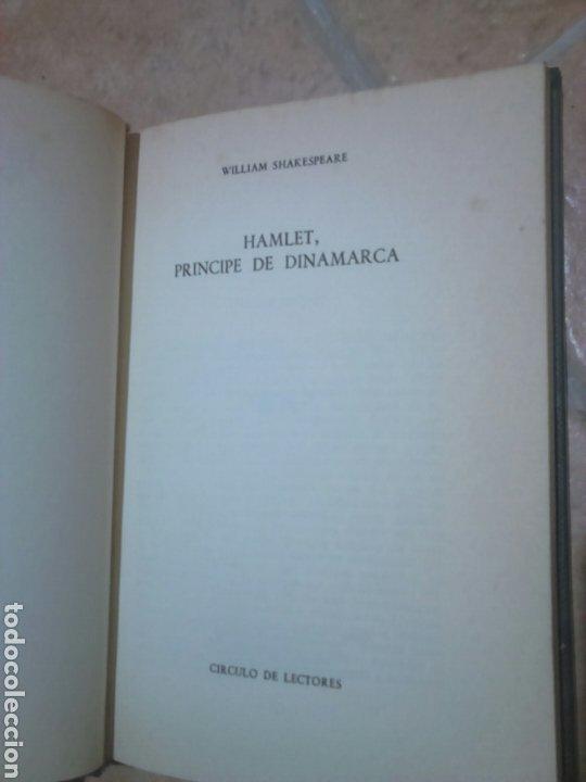 Libros de segunda mano: Libro,William Shakespeare, hamlet,príncipe de Dinamarca, año 1970 - Foto 2 - 194323010