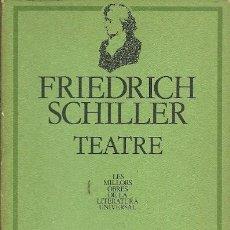 Libros de segunda mano: FRIEDRICH SCHILLER TEATRE. Lote 194534662