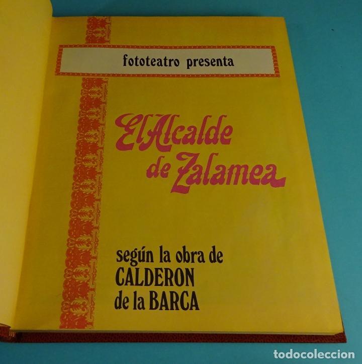 Libros de segunda mano: EL ALCALDE DE ZALAMEA. CALDERÓN DE LA BARCA. FOTOTEATRO EDITORIAL ROLLÁN 1973 - Foto 3 - 194599492