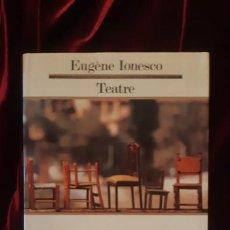 Libros de segunda mano: TEATRE - EUGÈNE IONESCO - EDICIONS 62 1990. Lote 194612568