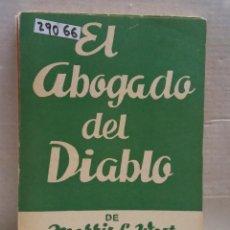 Libros de segunda mano: 29066 - COLECCION TEATRO - Nº 330 - EL ABOGADO DEL DIABLO - POR MORRIS L. WEST - AÑO ?. Lote 194652430