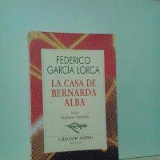 Libros de segunda mano: LMV - LA CASA DE BERNARDA ALBA. FEDERICO GARCÍA LORCA . Lote 194754927