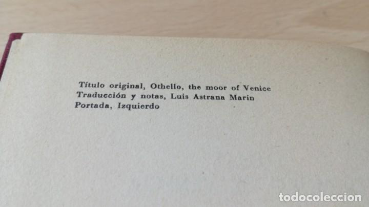 Libros de segunda mano: OTELO - EL MORO DE VENECIA - SHAKESPEARE - CIRCULO LECTORESI-402 - Foto 5 - 194911028
