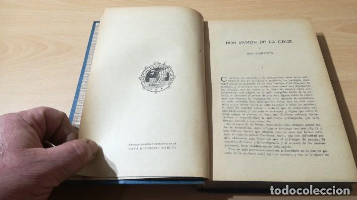 Libros de segunda mano: SAINETES RAMON DE LA CRUZ - TOMO I - MAUCCI 1943M401 - Foto 10 - 194916045